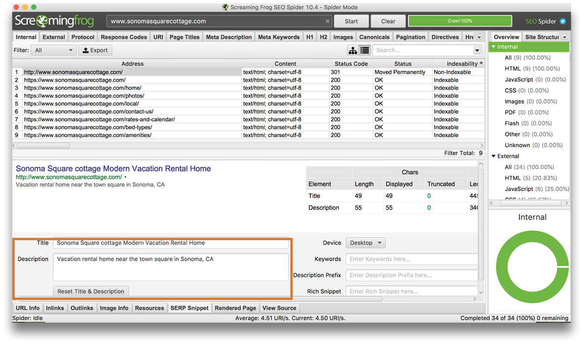 MyVR-on-page-SEO-screamingfrog-SERP-example