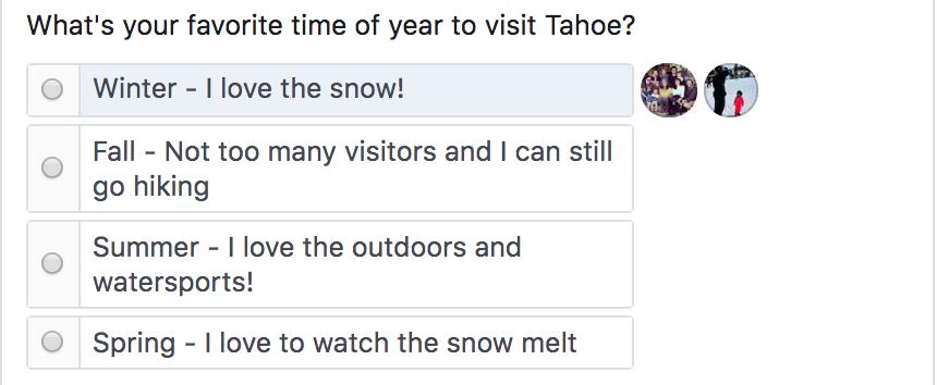 Tahoe Creek House - Poll