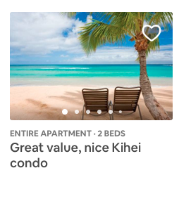 MyVR vacation rental thumbnail Airbnb beach view