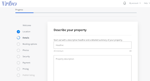How to list on Vrbo, step 3 - MyVR